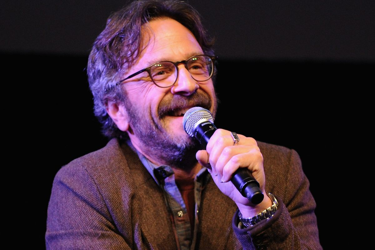 Maron performs at the New Yorker Festival 2014 on October 11, 2014
