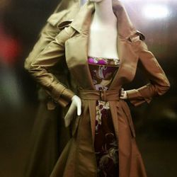 Kaufman Franco trench, Pucci dress