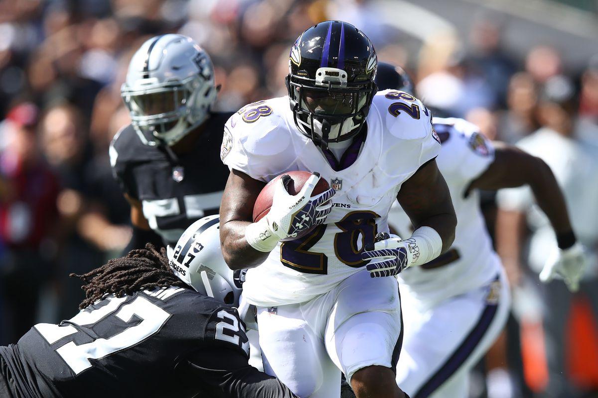 Baltimore Ravens vs Oakland Raiders