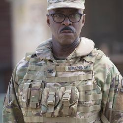 """Courtney B. Vance as Col. Greenway in """"The Mummy."""""""