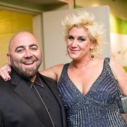 Food Network faves Duff Goldman and Anne Burrell.<br /><br />photo copyright Daniel Krieger Photography LLC