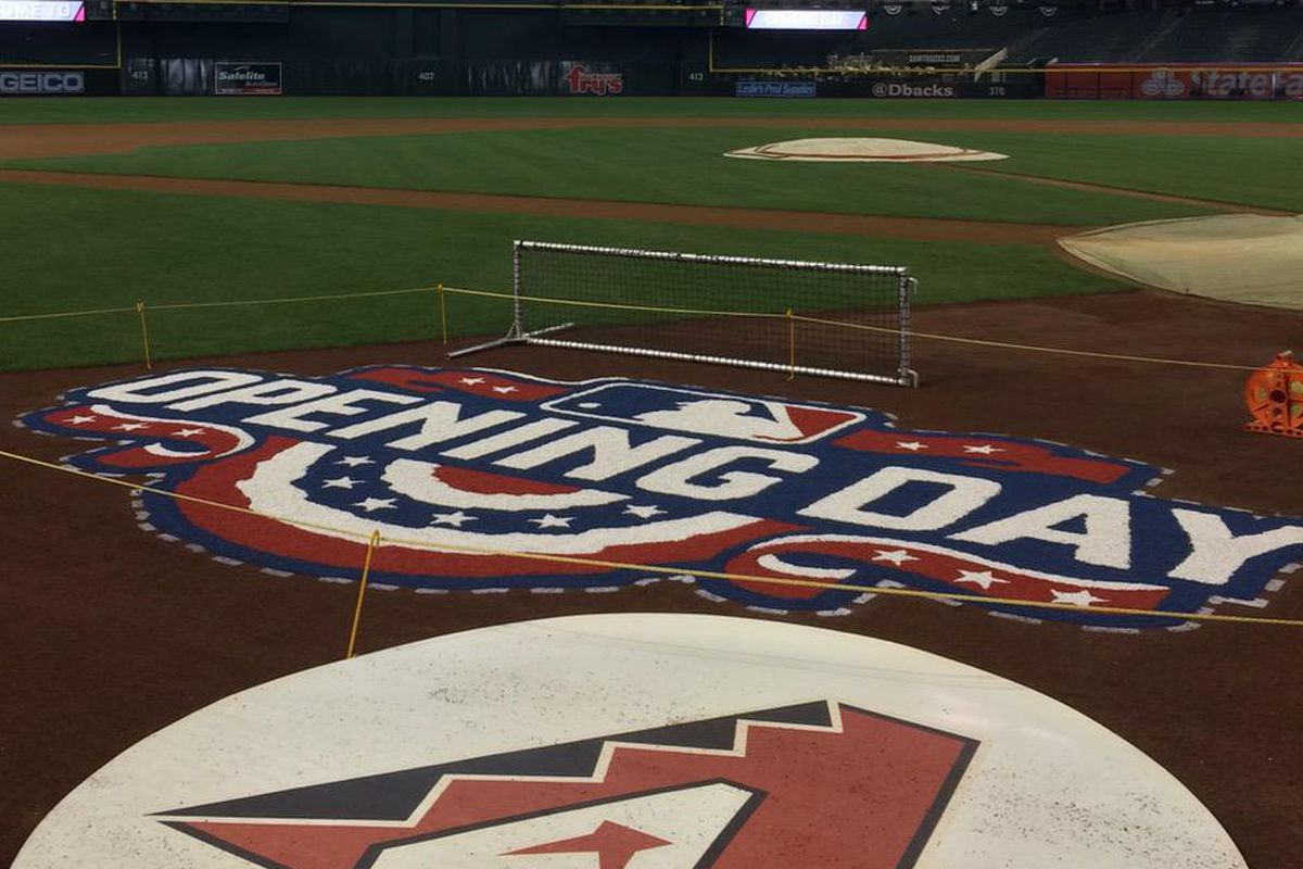 Thanks to all our friends in the Phoenix & Tucson media for waking up early to show off Chase Field on Opening Day!