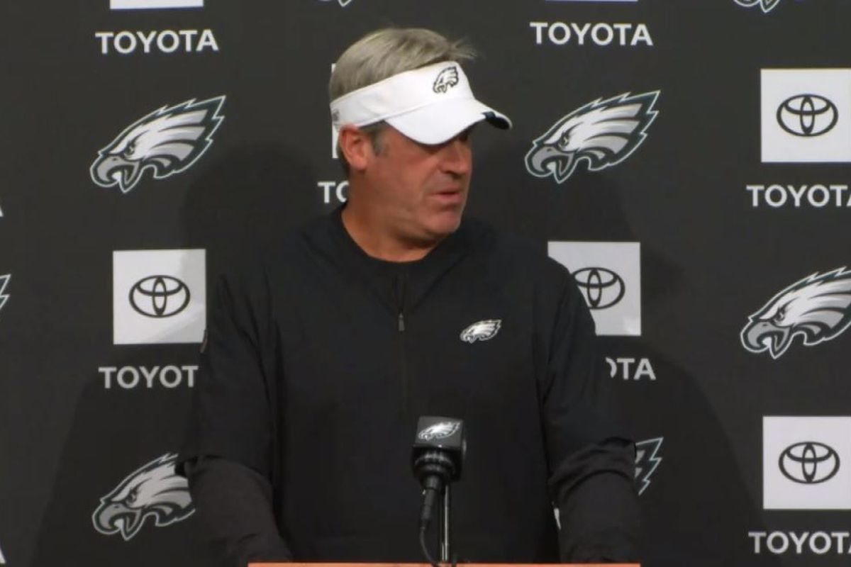 c63e3474941 Doug Pederson talks Eagles injury updates, Jason Peters mentoring Andre  Dillard, and more