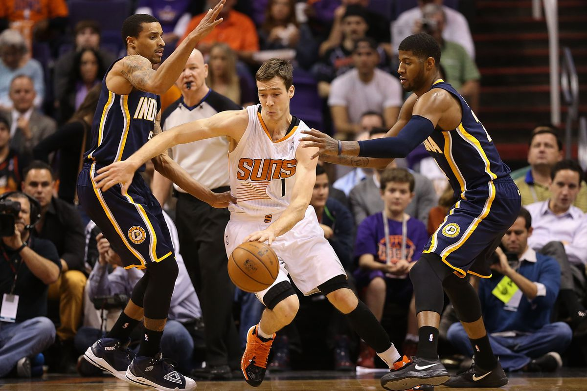 The Suns will need the Dragon tonight to have a shot at sweeping the Pacers.