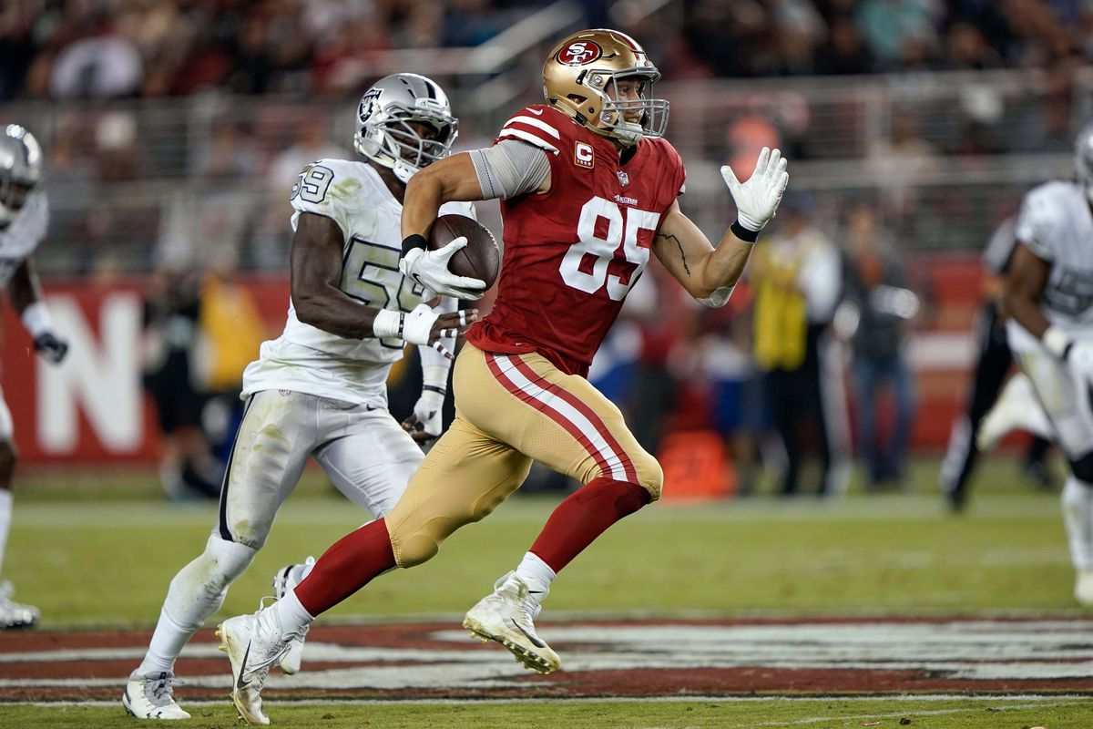 fd35967178b Why 49ers tight end George Kittle is the NFL s second-best tight end ...