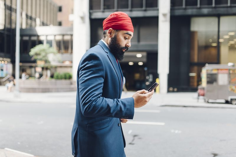 sikhmanbeardbusinesssuit Why workplace bans on facial hair marginalize men of color