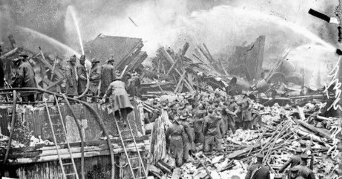 This week in history: Union Stock Yard fire kills 21 firefighters