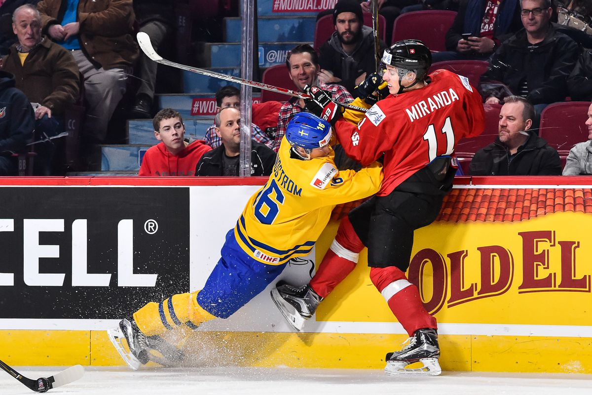 Switzerland v Sweden - 2017 IIHF World Junior Championship