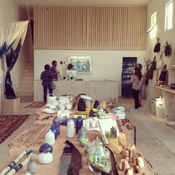 """Head back east to your next stop, <a href=""""http://la.racked.com/archives/2014/04/08/the_38_essential_la_shops_spring_2014.php"""">essential</a> Cali-cool shop <a href=""""http://shop-generalstore.com"""">General Store</a>. Pick up organic beauty products from Eart"""