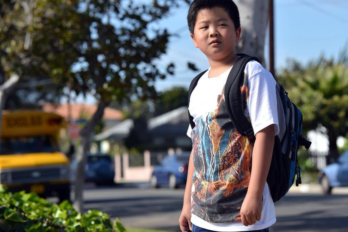 Hudson Yang plays the young Eddie Huang on the new sitcom Fresh Off the Boat.