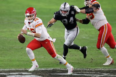 Kansas City Chiefs v Las Vegas Raiders