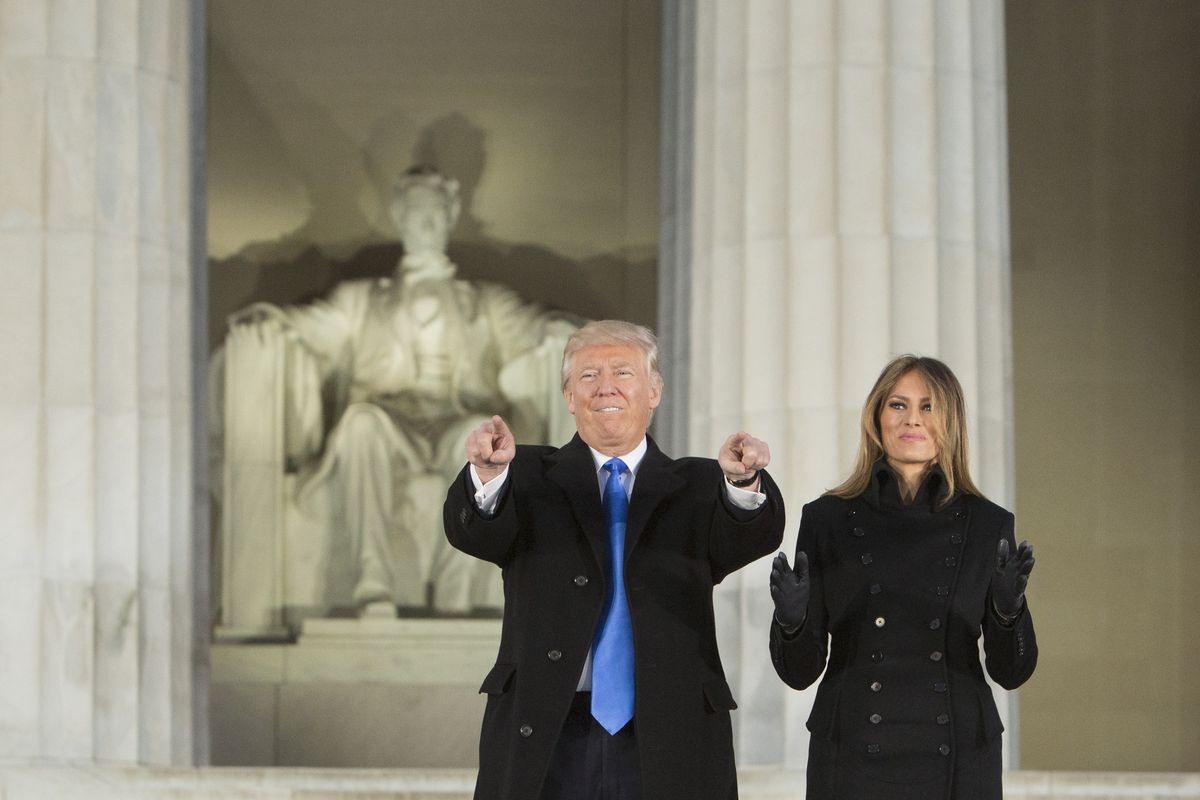 Inauguration Welcome Concert Held At The Lincoln Memorial