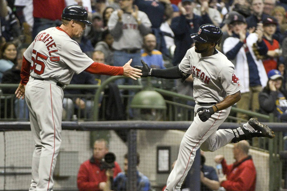 MLB: Boston Red Sox at Milwaukee Brewers
