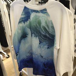Wave collage sweatshirt $140 (originally $325)