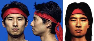 josh tsui head model