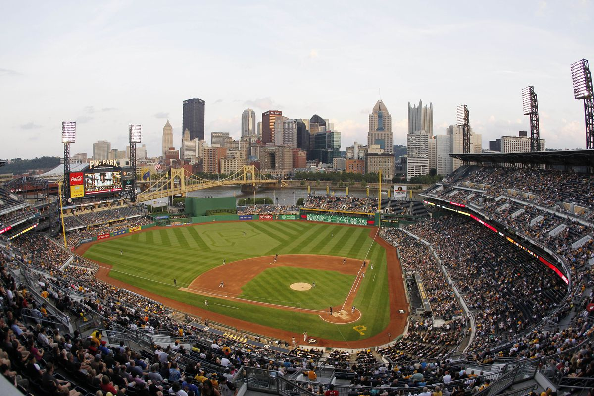 PNC Park during warmer times.