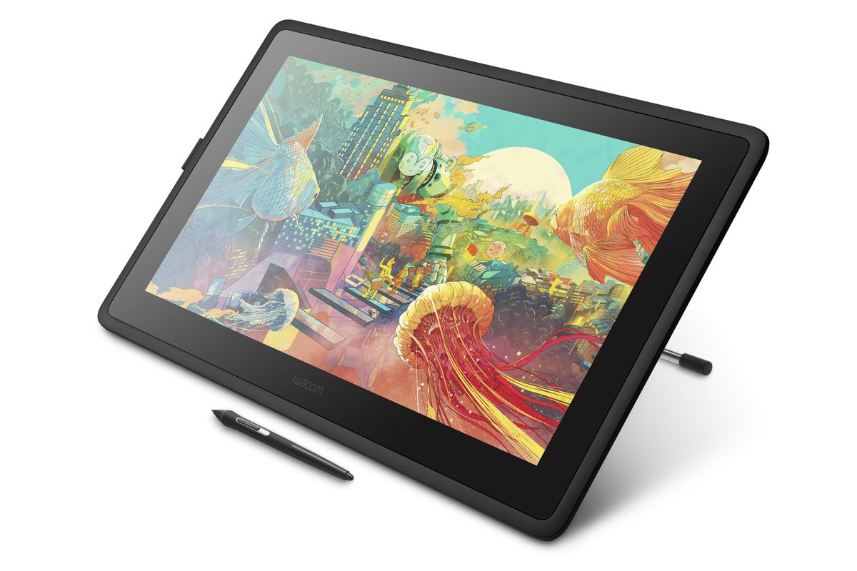 Wacom's new Cintiq 22 is a bigger addition to its entry