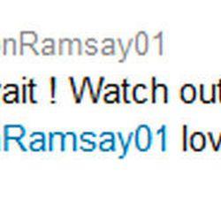Gordon Ramsay calls his burger joint, BurGR on Twitter.