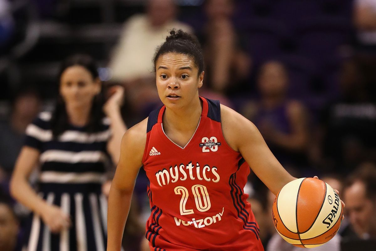 Former Terps powering the Washington Mystics offense early in WNBA season