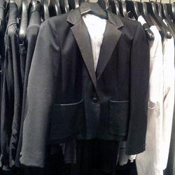 Band of Outsiders leather trim Schoolboy blazer, $647.50 (orig. $1295)
