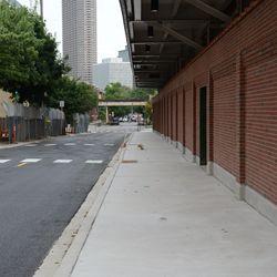 Mon 5:04 p.m. Waveland Avenue sidewalk -