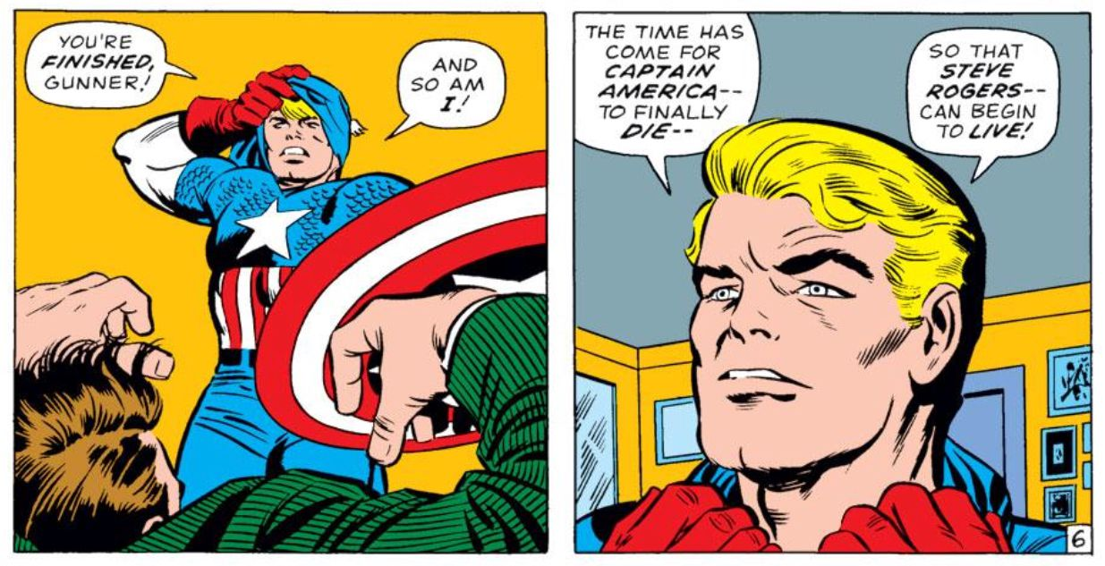 Captain America S Long History Of Quitting Polygon