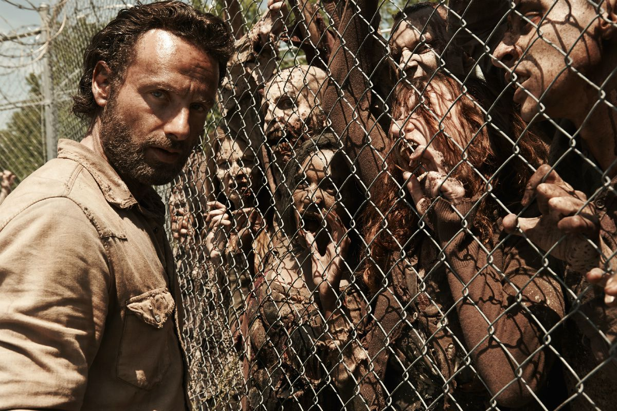 AMC is putting zombies on a plane in a new Walking Dead special