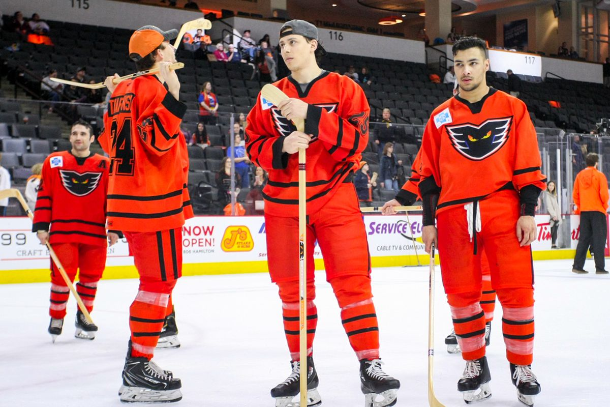 Analyzing the Lehigh Valley Phantoms' zone entry and exit numbers