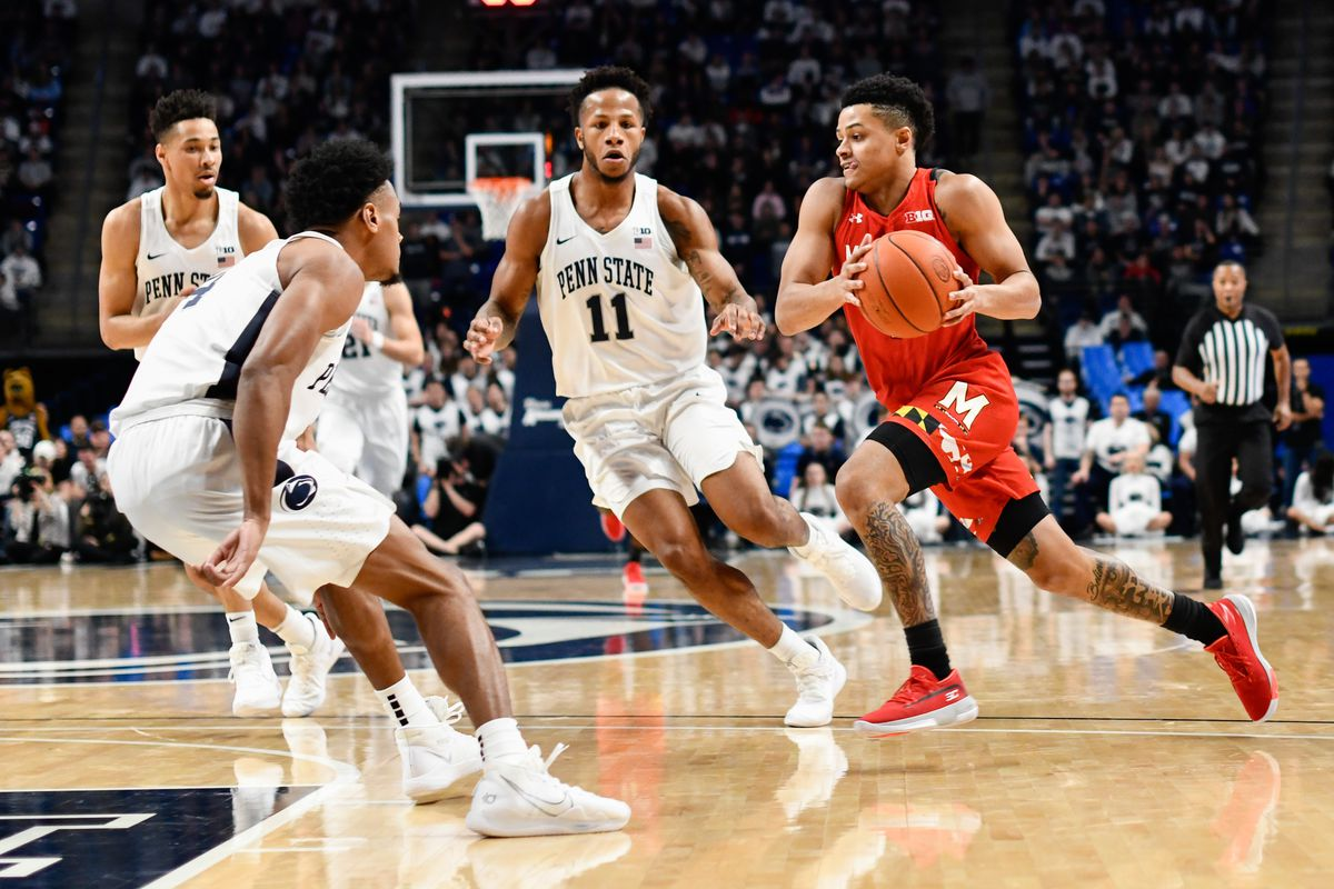 Anthony Cowan Jr, Penn State, 2019-20, Maryland men's basketball