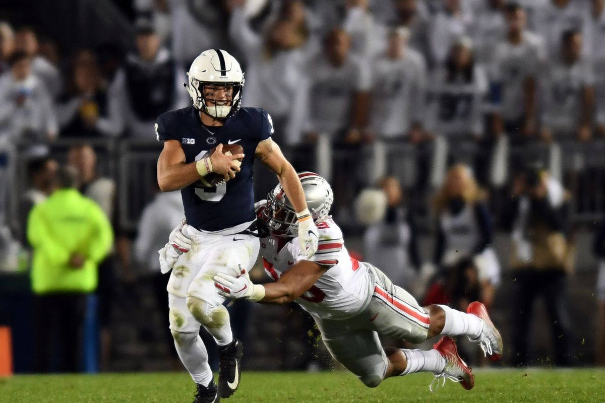 Penn State Opens as a 19-Point Road Underdog Against Ohio State