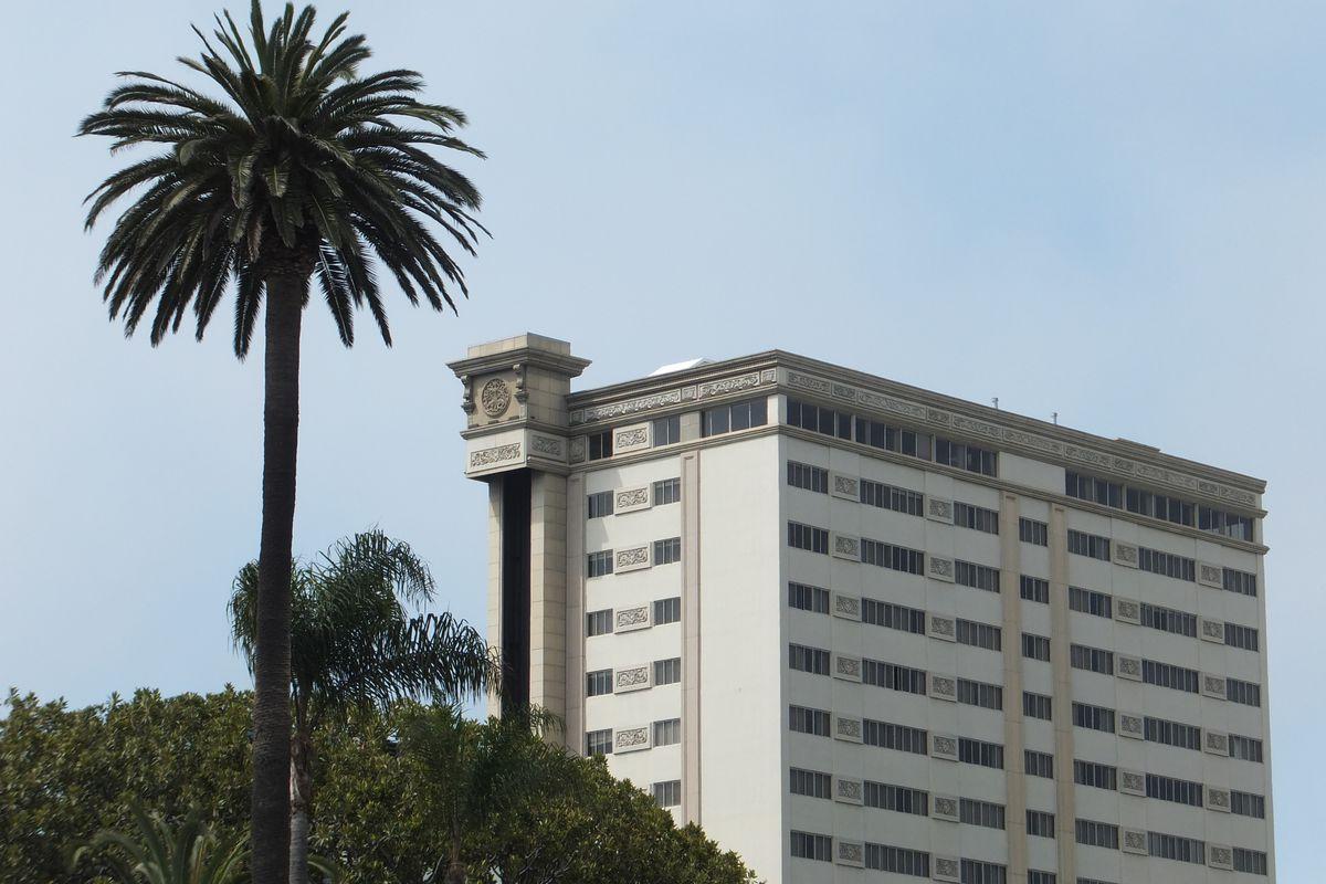 View of Huntley Hotel