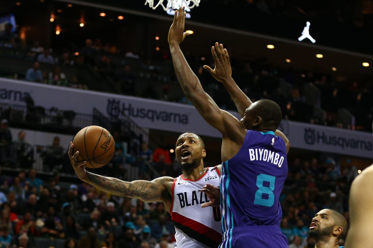 Charlotte Hornets at Portland Trail Blazers game thread - At The Hive
