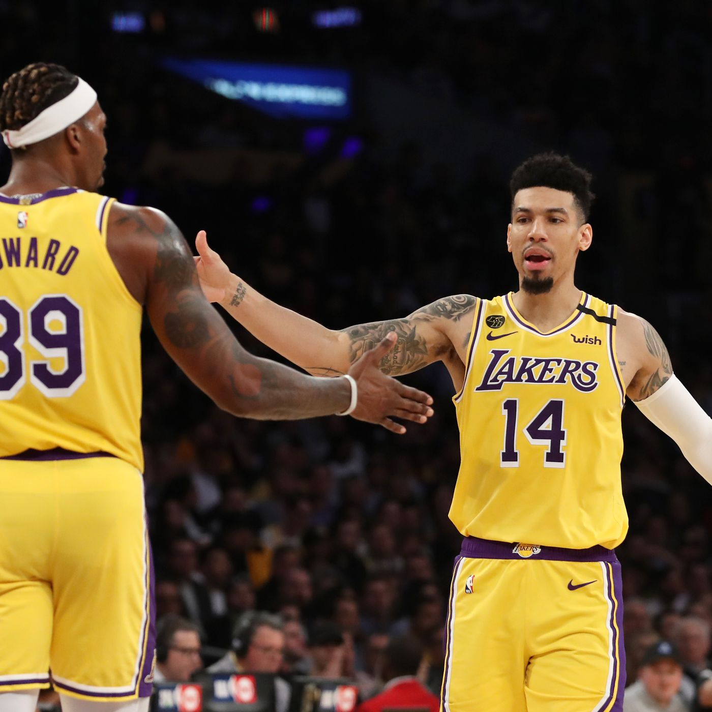 Lakers Rumors Dwight Howard Danny Green Had Glitches In Covid Tests Silver Screen And Roll