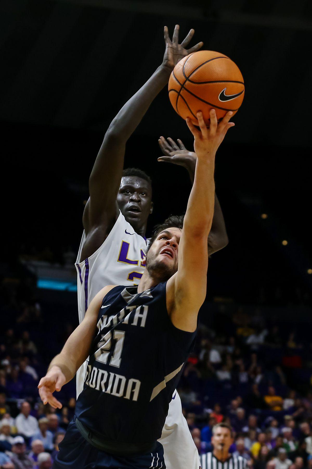 NCAA Basketball: North Florida at Louisiana State