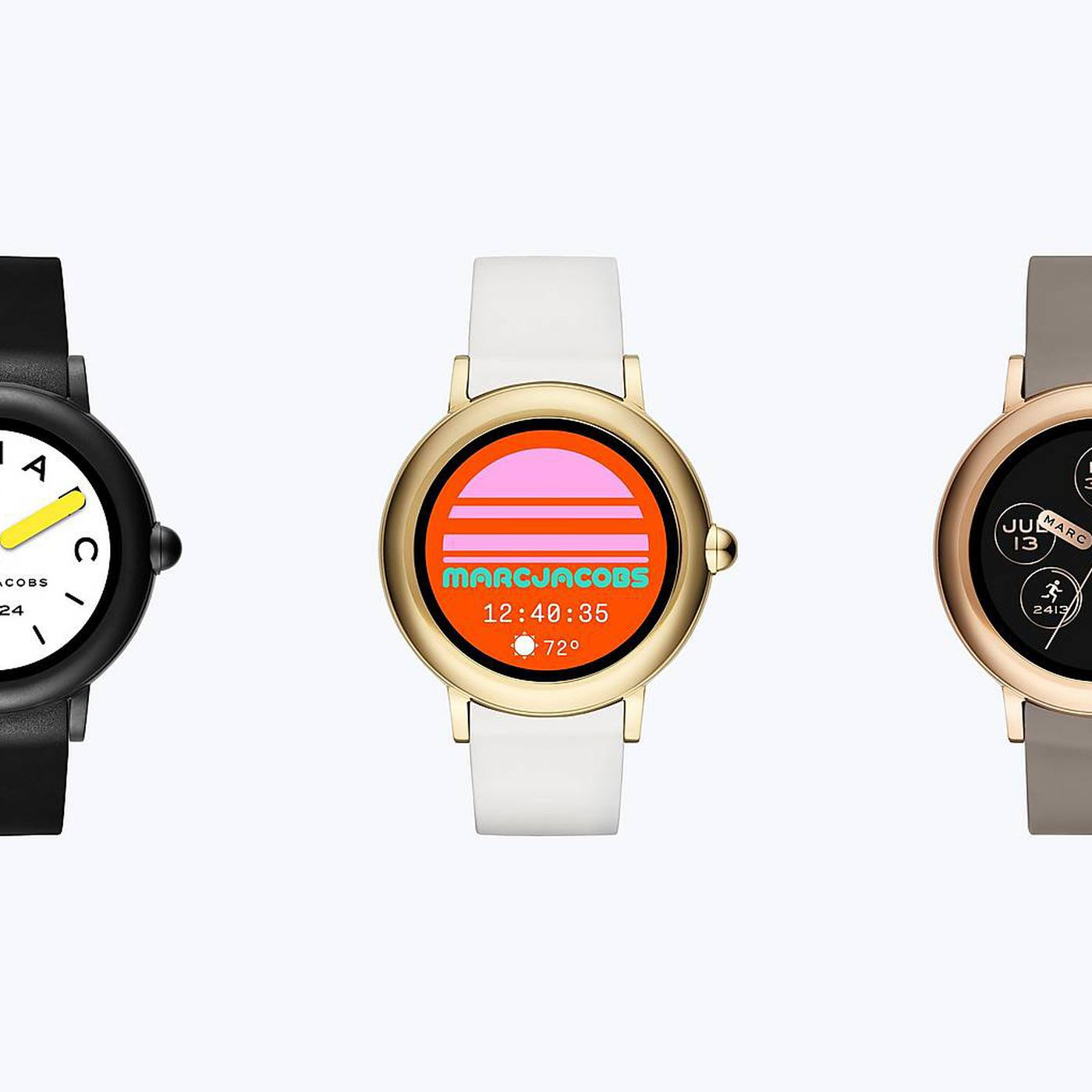 Marc Jacobs New Smartwatch Gets A Touchscreen At The Expense Of A Long Battery Life The Verge