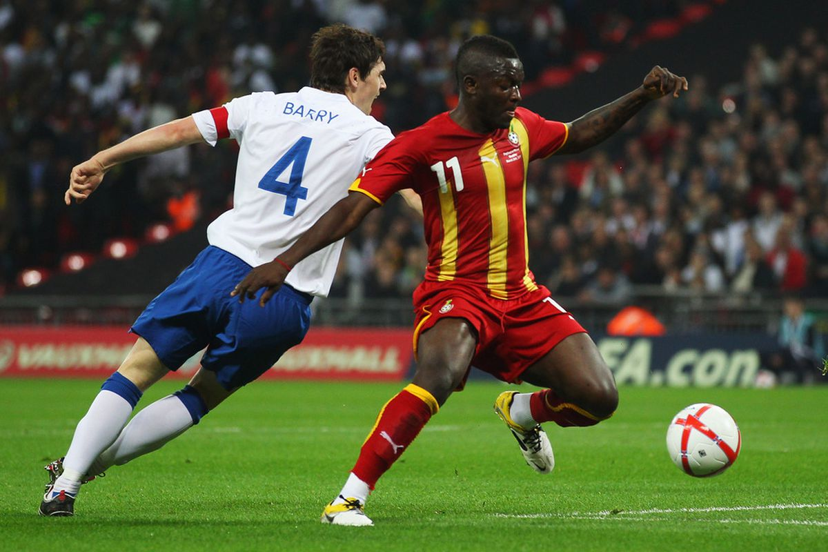 Sulley Muntari was very impressive in a more advance role against England, giving Steve Bruce food for thought.
