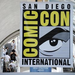 Fans arrive at the Comic-Con convention in San Diego in 2011