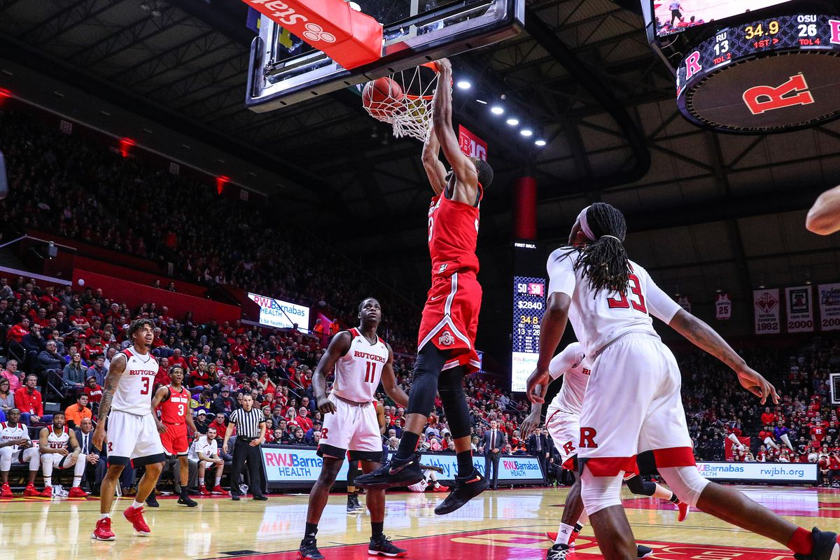 COLLEGE BASKETBALL: JAN 14 Ohio State at Rutgers