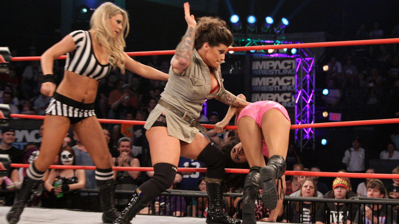 Impact wrestling women nude