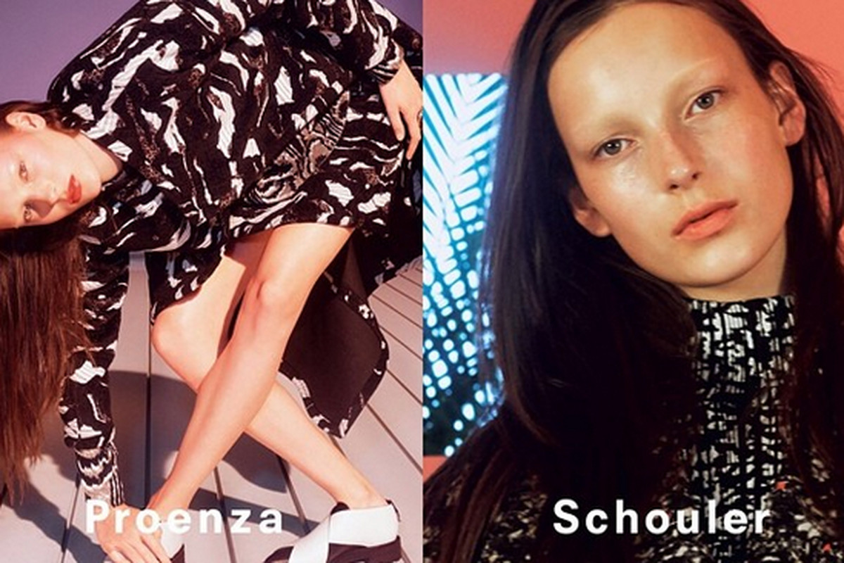 """The fall 2014 ad campaign, via Instagram/<a href=""""http://instagram.com/proenzaschouler"""">@proenzaschouler</a>"""