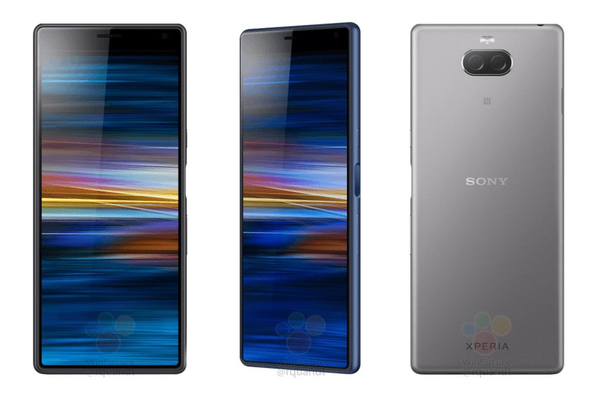 Sony's next phone leaks with a cinematic 21:9 screen - The Verge