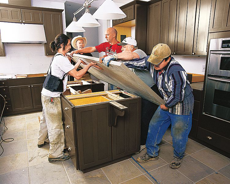 All About Kitchen Islands This Old House