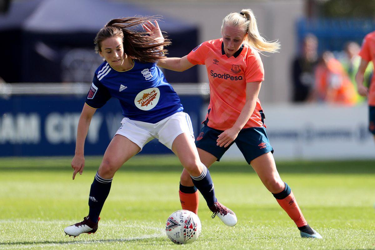 Birmingham City Women v Everton Ladies - FA Women's Super League - St Andrew's Trillion Trophy Stadium