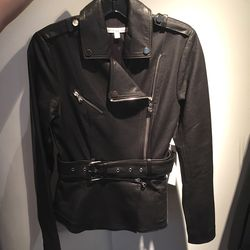 Two way leather moto, $450 (was $1,495)