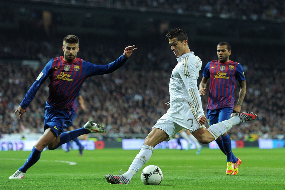 A perfect example of Madrid's lethal counter attack.