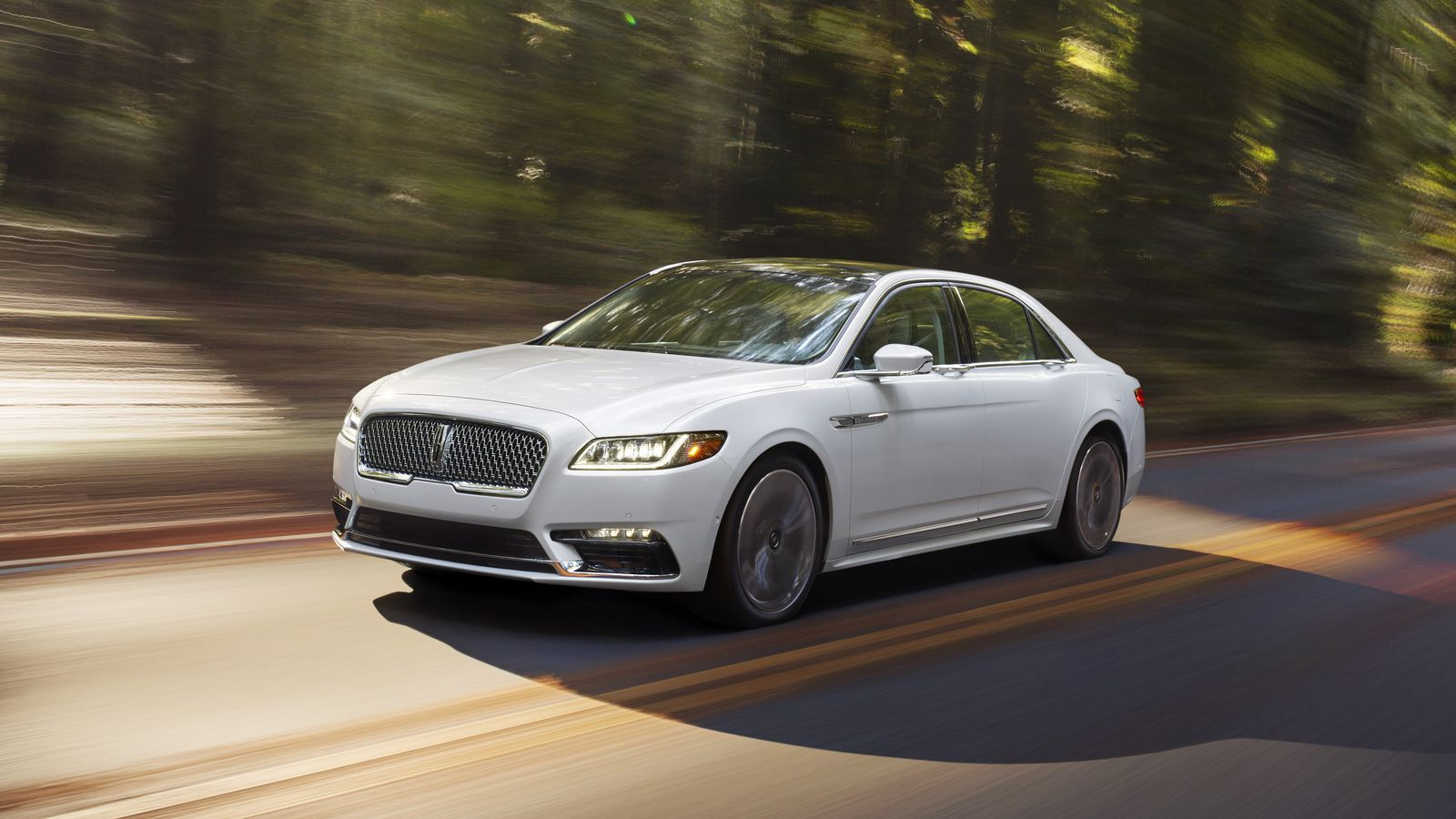 This Is The Lincoln Continental A Plush Luxury Sedan For Backseat