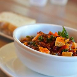 Turkey Chili at Sycamore Kitchen, Bakery and Cafe, Los Angeles, by R.E. ~