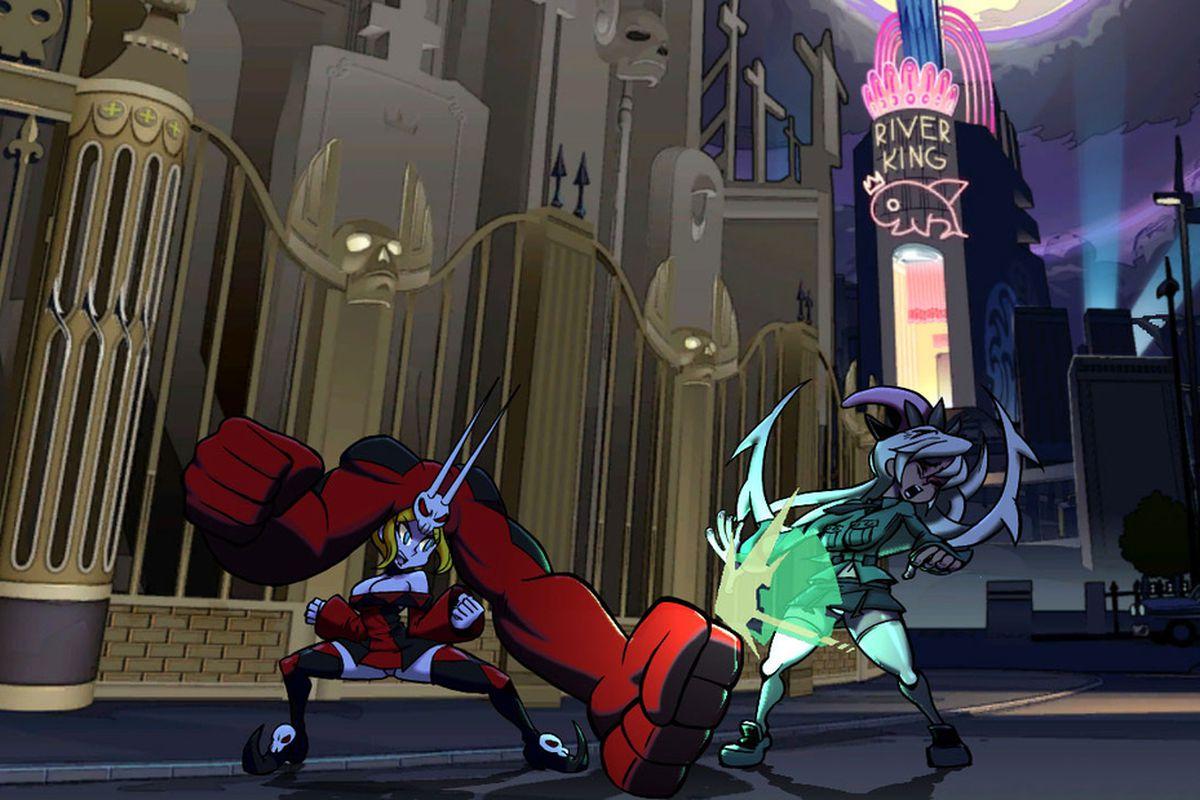 Skullgirls screen