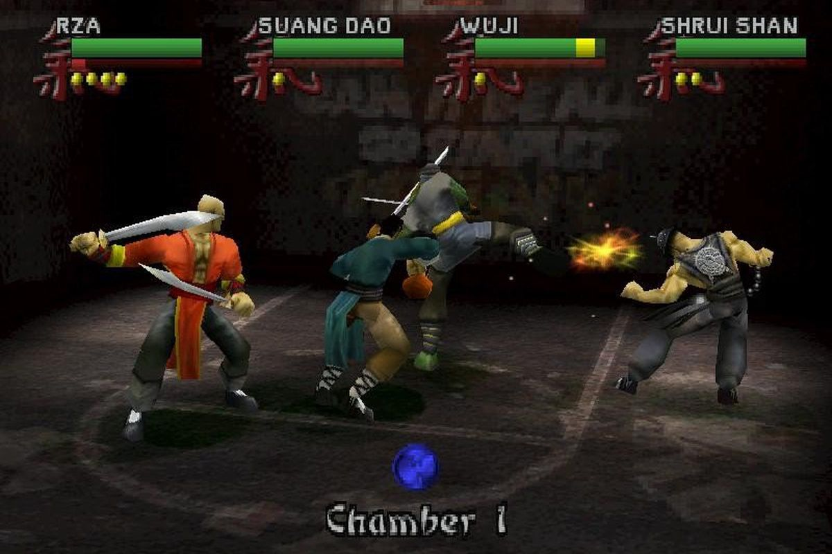 Wu Tang Shaolin Style game