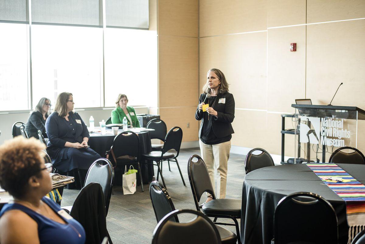 Gini Pupo-Walker, Conexión Américas' senior director of education policy